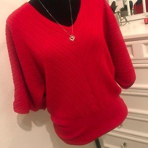 Very cute red top